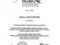 Arch kvalifikacijos atestatas