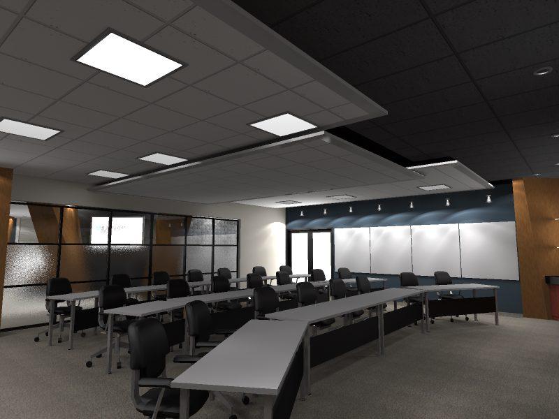 Interior Render of Archicad model by ArchicadTeam.com