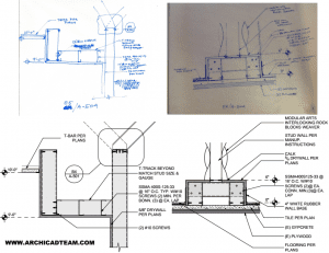 CAD ( Autocad, Archicad ) 2D drafting
