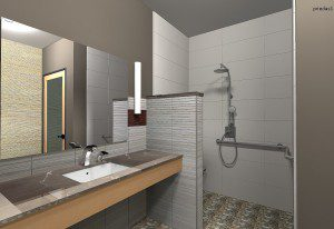 Interior render of Archicad model by ArchicadTeam.com