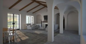 Interior Architectural 3D render with Maxwell