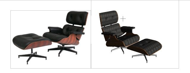 Archicad model Custom chair BIM model by ArchicadTeam.com