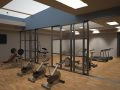 Gym (Corridor ( render of Archicad model )  by ArchicadTeam.com