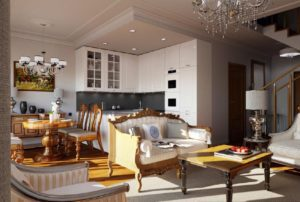 Photorealistic Architectural interior render