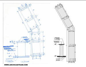 2D Architectural details from sketches