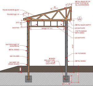 US architectural drafting
